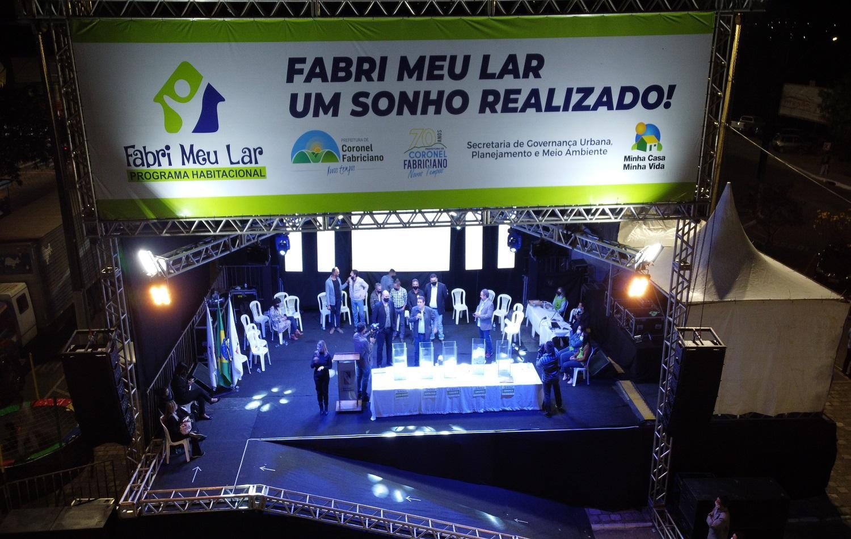 Prefeitura de Fabriciano sorteia moradias pelo Fabri Meu Lar